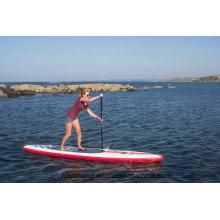 2016 красный цвет стоячая доска для серфинга с веслом