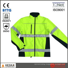 Men Hi-Vis Safety Welding Jacket