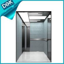 Ascenseur de passagers avec miroir Acier inoxydable gravé