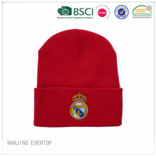 Real Madrid Knit Football Fan Cuff Hat