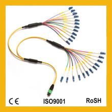 Chicote de fios direto MTP-LC 24cores Fan-out Patch Cord