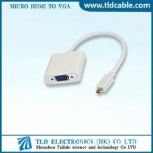 Best to buy White VGA to Micro HDMI Converter 1080p