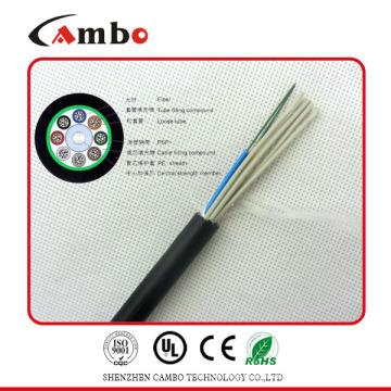 Buried / Duct / Aerial Application fita mettalic blindados multi pares SM / MM velocidade de fibra óptica