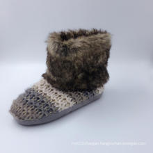 Women′s Knitted Warm Indoor Boots