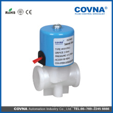 """2 position 2 way normal close water, air, 1/4"""" PP solenoid valve 220V"""