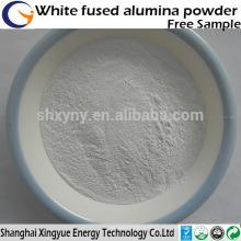 Oxyde d'oxyde d'aluminium fondu blanc pour le sablage / poudre d'alumine fondue blanche réfractaire