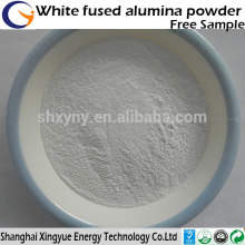 Grit white fused alumina oxide for sandblasting/refractory white fused alumina powder