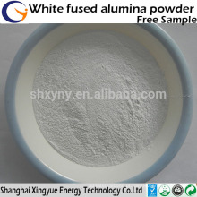 Óxido de alumina fundido branco com grão para argila / pó de alumina fundido branco refractário