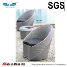 Mobiliário de Jardim Design de Moda 2 PCS Mesa e Cadeira (ES-OL026)