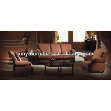 Nuevo diseño sofá de tela de cuero de hotel XY2848