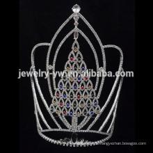 Großhandel Crystal Christmaslarge hohe Baum Tiara und Kronen