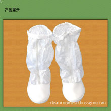 Women Esd Anti Static Safety Shoes With Leather Vamp