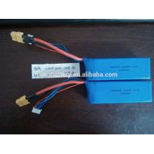 783496SP recargable 14.8v 2200mah batería de helicóptero rc lipo con conector