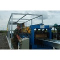 Long span forming machine for steel roofing