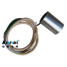 Calentador de boquilla de bobina de acero inoxidable con cubierta de metal