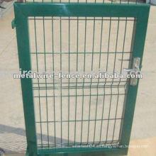 Puerta de cerca galvanizada de acero inoxidable