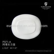 Hotel Keramikplatte für Kuchen P071-a