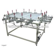 Impressão de alongamento maca/tela de malha de tela/máquina esticador de malha