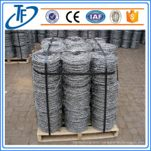 Electric Galvanized Barbed Wire With Pallet Used For Sale (China Product)