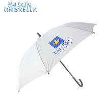Cadeaux pour 2018 Populaire Peinture DIY Personnelle Parasol Soleil Protéger Voyage Sport Promotion Blanc Parapluie Personnalisé Impression Logo