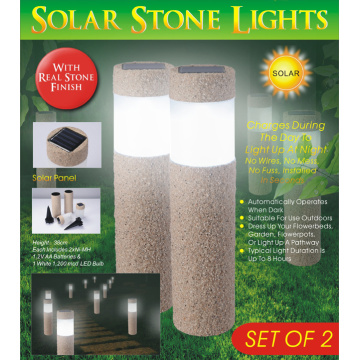 Resin Sand Park Solar LED light