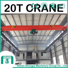 Explosion Proof Electric Single Girder Bridge Crane 20 Ton