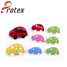 Verschiedene Farben der Auto-Form für Kinder Button