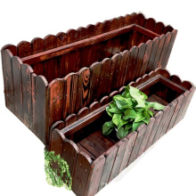 wooden flower Pot for home decorations