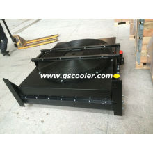 Aluminum Oil Cooler with Hydraulic Motor