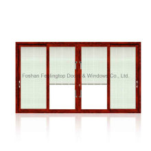 Hot Sell Thermally Broken Aluminium Sliding Window with Mosquito Net (FT-W85)