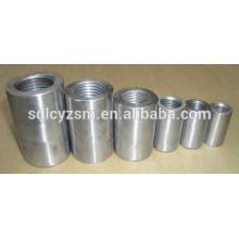 Conexão de barras de reforço de aço de acopladores de aço manga de conexão de vergalhões para o Mercado da Índia