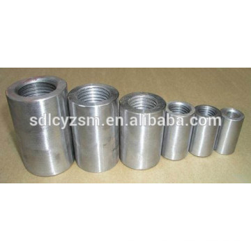 Connecting couplers steel reinforcing bars steel rebar connection sleeve for India Market