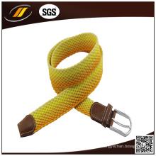 Großhandelsgewohnheits-elastischer Gewebe-Gurt für Mann