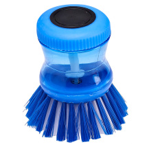 9.5 * 7 * 7 bleu fabriqué en Chine brosse de nettoyage en profondeur personnalisée