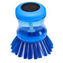 Azul 9.5 * 7 * 7 feito em China escova limpa profunda personalizada