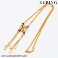 43083- Xuping Jewelry Fashion 18K plaqué or collier pour les femmes