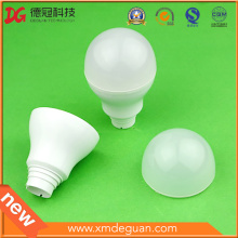 Customized LED Lamp PC Bulb Cover Plastic Component
