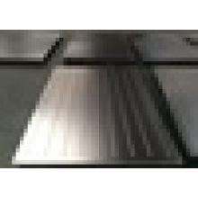 Placa de prensa de acero inoxidable / placas de textura