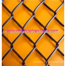 black !!! chain link fence (factory)