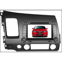 Lecteur multimédia voiture 7 po avec Bt / GPS / DVD / CD / MP3 / MP4 / Radio pour Honda Civic (TS7722)