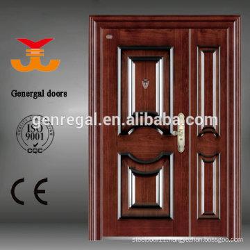 Safty Grade Security steel metal Exterior House Door
