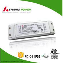 Plastic cover 24v triac dimmable led driver 6w