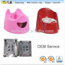 Туалет пластиковый стульчик-горшок для младенцев и детей инъекций Плесень чайник