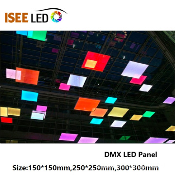 Panel de luz LED RGB DMX para decoración de pared