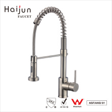 Haijun China Factory Contemporary Deck Mounted Pull-Out Kitchen Faucet