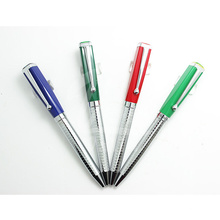 Bunte Magic Slogan Stripe Werbe-Stift