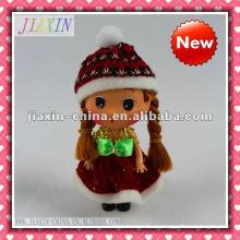 Mini muñeca plástica del nuevo estilo 2013, pequeña muñeca del vinilo
