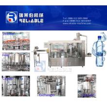 Équipement d'embouteillage minéral automatique de l'eau pour la bouteille d'animal familier