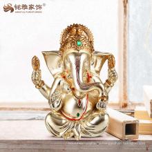 Индуистский Бог ганеша статуя для украшения смолаы украшения гостиной