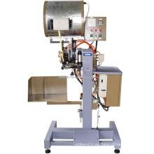 Máquina de colocación de cinta para costuras de ribete de zapatos Goodyear